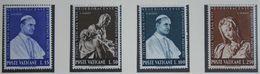 Weltausstellung New York 1964 Mi 450-453 Yv 401-404 POSTFRIS / MNH / ** VATICANO VATICAN VATICAAN - Neufs