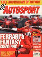 Autosport 2000  Michael Schumacher Jenson Button Mika Hakkinen Allan McNish Richard Burns - Deportes
