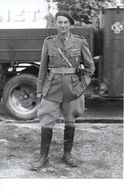 PHOTO DU COMMANDANT ANDRE BONAMY FFI 1944 - Oorlog, Militair