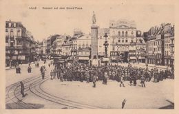 59-LILLE CARTE ALLEMANDE - Lille