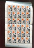 Belgie 1966 1361 FULL SHEET Plaatnummer 4 - Full Sheets