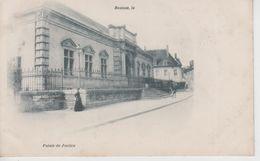 CPA Précurseur Beaune - Palais De Justice (avec Petite Animation) - Beaune