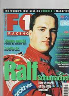 F1 Racing Edité En Australie 1999 Ayrton Senna Ralf Schumacher Eddie Irvine Ron Dennis Alain Prost - Deportes