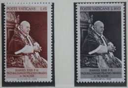 Pope Johannes XXIII 1963 Mi 427-428 Yv 378-379 POSTFRIS / MNH / ** VATICANO VATICAN VATICAAN - Neufs