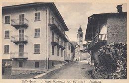 SAN PIERO DI MONTEROSSO-CUNEO-VALLE GRANA-PANORAMA-CARTOLINA  NON VIAGGIATA -ANNO 1920-1930 - Cuneo