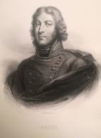 GRAVURE XIX - Lazare Hoche (1768-1797) - Bosselman Sc - Prints & Engravings