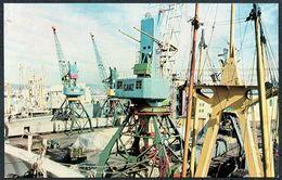 D8119 - TOP Hafen Murmansk Hochsee Handelshafen - Kran - Cargos