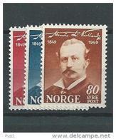 1949 MNH Norwegen, Norway, Norge, Postfris - Norvegia