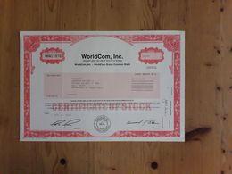WorldCom - Shareholdings