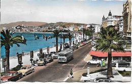 06. CANNES. LA CROISETTE. VOITURES ET BUS ANCIENS. 1959. - Cannes