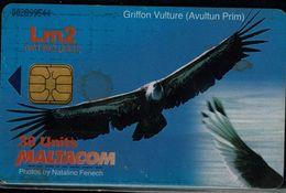 MALTA 2000 PHONECARD EAGLES USED VF!! - Eagles & Birds Of Prey