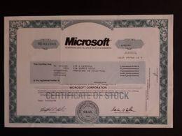 Microsoft - Shareholdings