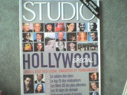 Studio SPECIAL HOLLYWOOD (p74 à 127) + Katharine Hepburn Marie Trintignant Audrey Tautou Marion Cotillard - Cinema