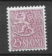 1959 MNH Finland, Mi 502, Postfris** - Nuovi