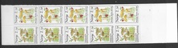 1987 MNH Norway, Booklet, Mi 969-70, Lower Margin Imperforate - Libretti