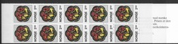 1986 MNH Norway, Booklet, Mi 959, Lower Margin Imperforate - Libretti