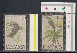 Jamaica, Scott #473, 475, Mint Never Hinged, Birds, Issued 1979 - Jamaica (1962-...)