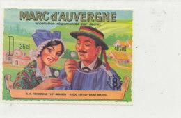 AN 1010 / ETIQUETTE -  MARC D' AUVERGNE  -VEY MAURIN  (HAUTE LOIRE) - Etichette