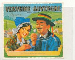 AN 1011 / ETIQUETTE -   VERVEINE  AUVERGNE  -VEY MAURIN  (HAUTE LOIRE) - Etichette