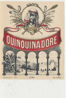 AN 1020 / ETIQUETTE   QUINQUINA DORE  N° 393 - Labels