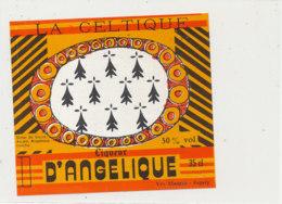AN 1030 / ETIQUETTE     LA  CELTIQUE  LIQUEUR D'ANGELIQUE    VEY- MAURIN       ESPALY  (HAUTE LOIRE ) - Labels