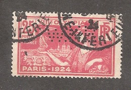 Perforé/perfin/lochung France No 184 W.K.B Sté Grands Magasins Weill Kinsbary Et Bernhein - France