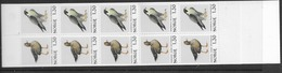 1981 MNH Norway, Booklet, Mi 827-28, Lower Margin Imperforate - Libretti