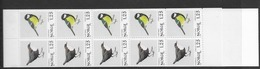 1980 MNH Norway, Booklet, Mi 813-4, , Lower Margin Imperforate - Libretti