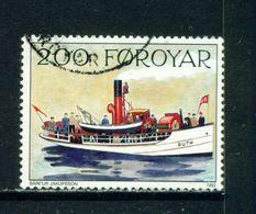 FAROE ISLANDS - 1991 Mail Ships 200o Used As Scan - Faroe Islands