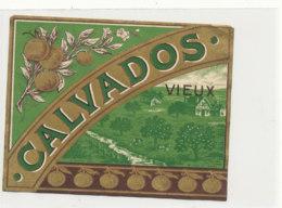 ET 848 / ETIQUETTE  -  CALVADOS VIEUX   N° 1104 - Labels