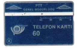 Turkey - TR-LG-10L - Blue 60 Units - Shiny Blank - 003D - Turquie