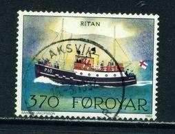 FAROE ISLANDS - 1991 Mail Ships 370o Used As Scan - Faroe Islands