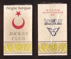 AC -  REGIE TURKEY JOCKEY CLUB EL AL ISRAEL AIRLINES HARD CIGARETTES UNOPENED BOX FOR COLLECTION - Around Cigarettes