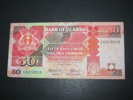 50 Fifty Shillings Shilingi Hamsini 1989 - Central Bank Of UGANDA  **** EN ACHAT IMMEDIAT **** - Ouganda
