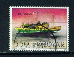 FAROE ISLANDS - 1991 Mail Ships 550o Used As Scan - Faroe Islands