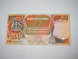 200 Two Hundread Shillings Shilingi Miambili 1987 - Central Bank Of UGANDA  **** EN ACHAT IMMEDIAT **** - Ouganda