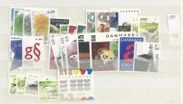 1999 MNH Denmark, Dänemark, Year Complete, Excluding Blocks, Postfris - Volledig Jaar