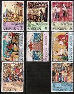 YEMEN---Kingdom  Mi. # 412-9 VF USED (Stamp Scan # 701) - Yemen