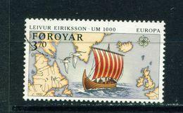 FAROE ISLANDS - 1992 Europa 370o Used As Scan - Faroe Islands