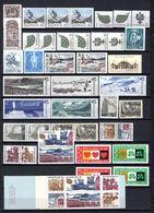 Zweden: 1970 - Jaargang Compleet Postfris/ Year Complete MNH - Schweden