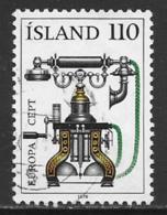 Iceland Scott # 515 Used Europa,1979 - 1944-... Repubblica