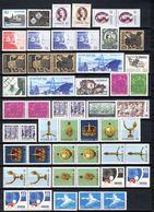 Zweden: 1971 - Jaargang Bijna Compleet Postfris/ Year Almost Complete MNH - Ungebraucht
