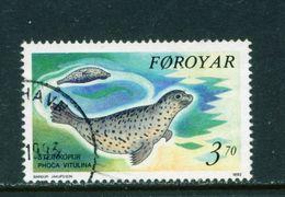 FAROE ISLANDS - 1992 Seals 370o Used As Scan - Faroe Islands