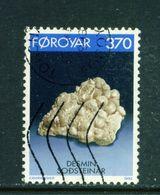 FAROE ISLANDS - 1992 Minerals 370o Used As Scan - Faroe Islands