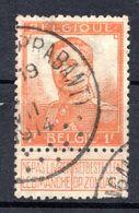 BELGIQUE - 1912-13 - N° 116 - 1 F. Orange - (Albert 1er) - 1912 Pellens