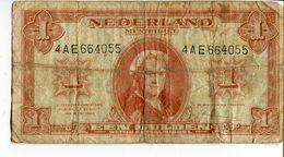 EEN GULDEN / 1945 / GULDEN / BILLET / MONNAIE / PAYS BAS / HOLLANDE / NEDERLAND / MULTBILJET - [2] 1815-… : Regno Dei Paesi Bassi