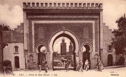 FEZ (Maroc) - Porte De Bou-Jeloud - Cpa Petit Prix - TBE - Non écrite - Fez