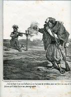 Campagne D'Italie De 1859.Napoléon III.Invasion Du Piémont Par Les Autrichiens.Autrichien Incompétent.Zouave. - Estampas & Grabados