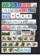 Zweden: 1977 - Jaargang Compleet Postfris / Year Complete MNH - Suède