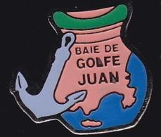 65898- Pin's.Baie De Golf Juan.Jarre.Ancre Marine.Plongée. - Plongée